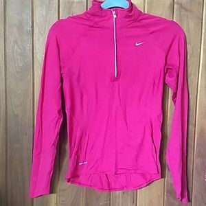 Nike Quarter Zip DriFit shirt